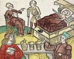 昔の医者たち