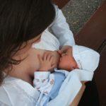 ソフロロジー出産の赤ちゃんはよく飲みよく寝る