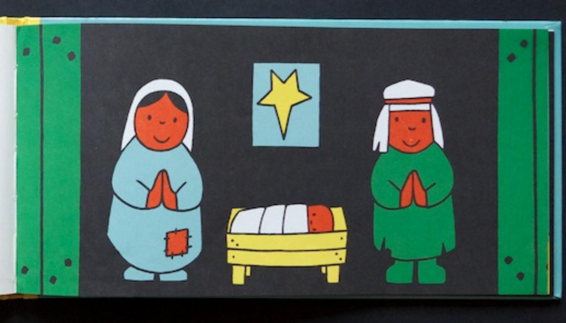 クリスマスの起源キリスト降誕物語絵本『クリスマスって なぁに』ディック・ブルーナ