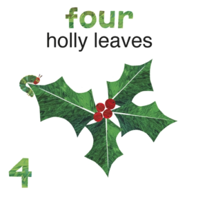 the very hungry caterpillar christmas 123 クリスマスにおすすめの英語絵本