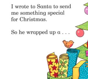 Dear Santa クリスマスにおすすめの英語絵本