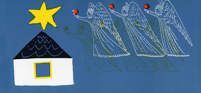 『ほしのひかったそのばんに』クリスマスの起源キリスト降誕物語絵本