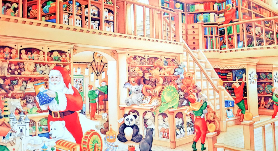 『しろくまくんのクリスマス』おすすめのサンタ絵本