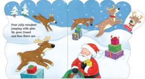 Eight Jolly Reindeer クリスマスにおすすめの英語絵本