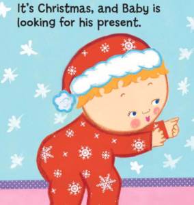 Where is the Baby's Christmas present? クリスマスにおすすめの英語絵本