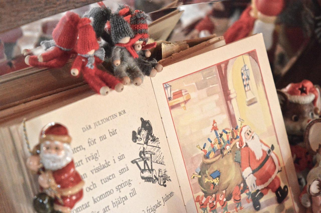 クリスマス英語絵本ムーアThe night before christmas