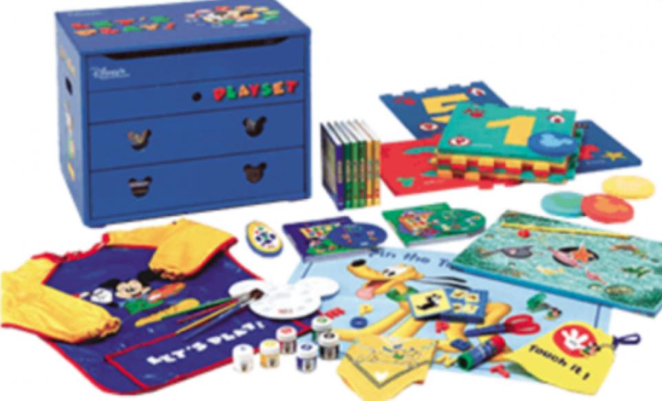DSP ディズニー英語システム(DWE)教材パッケージ レッツプレイ教材