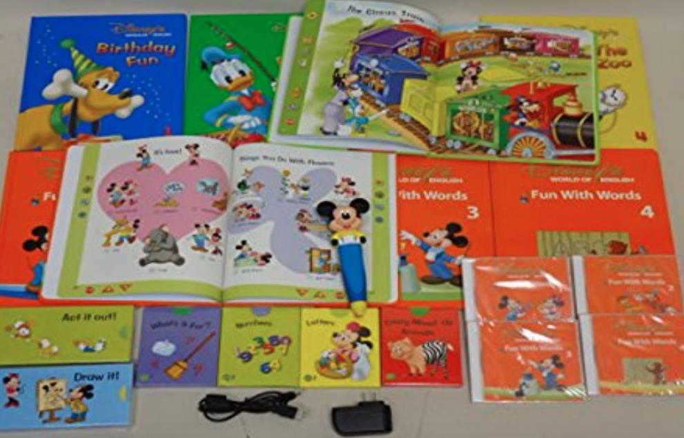 ディズニー英語システム(DWE)教材パッケージ ミッキーマジックペンセット