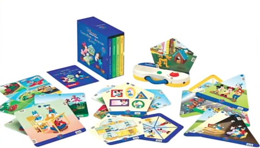 ディズニー英語システム(DWE)教材パッケージ A&Qカード