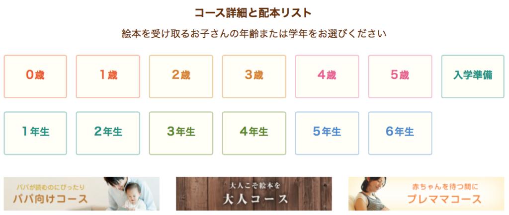 海外発送可定期購読「絵本ナビ」配本コース