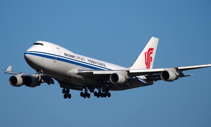 中国の航空会社での例