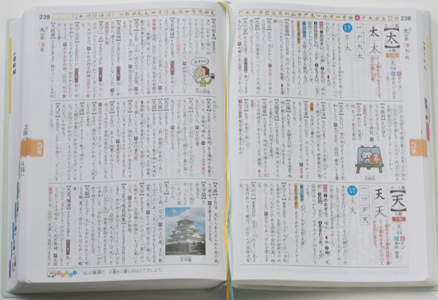 レインボー小学漢字辞典
