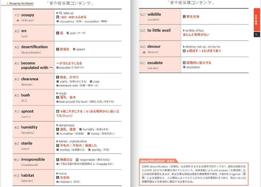 英検準1級 文で覚える単熟語
