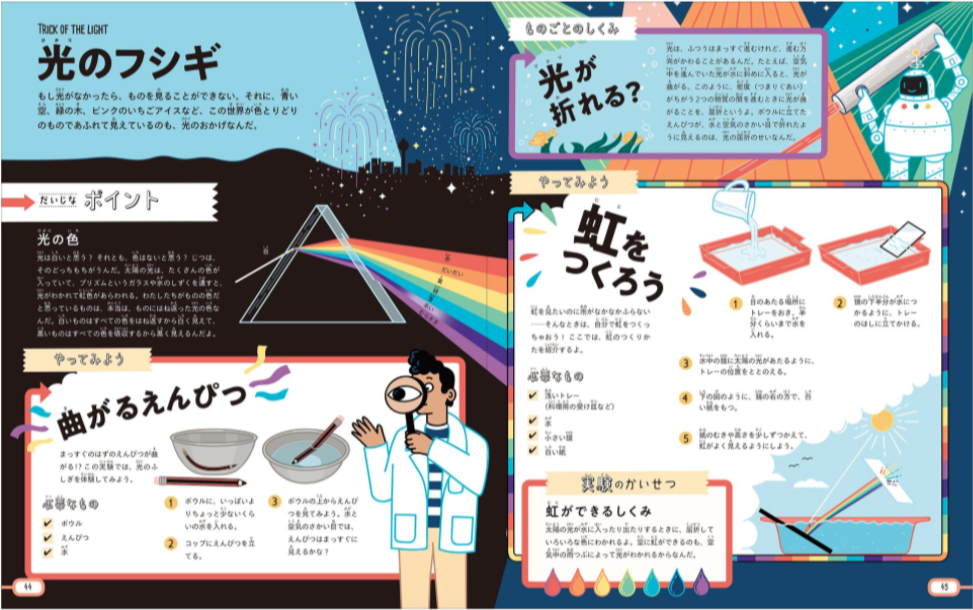 【小学生の自由研究】面白い実験だらけ! 専門的な実験が楽しいから賞が取れるSTEM体験ブック