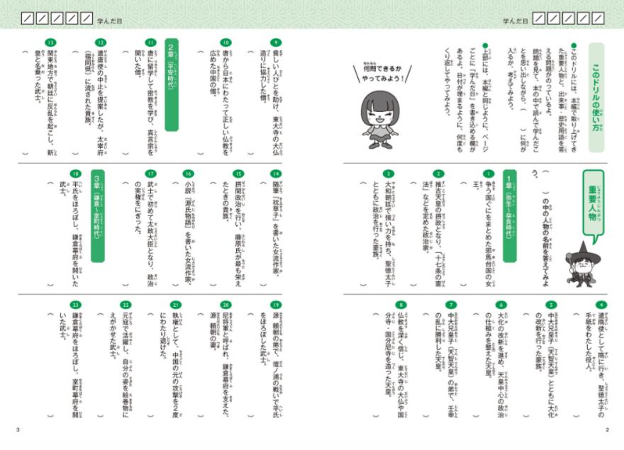 マンガ×くり返しでスイスイ覚えられる日本の歴史人物100