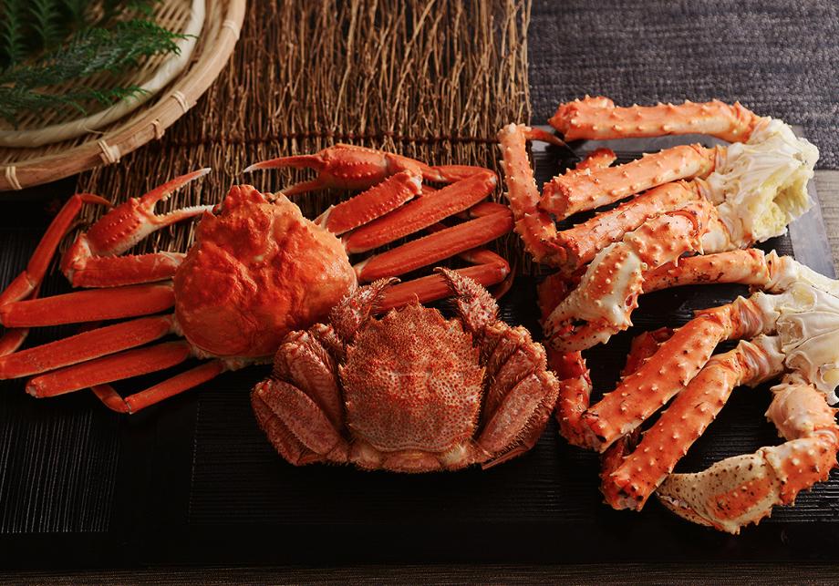 カニ通販 北国からの贈り物 三大蟹 食べ比べ