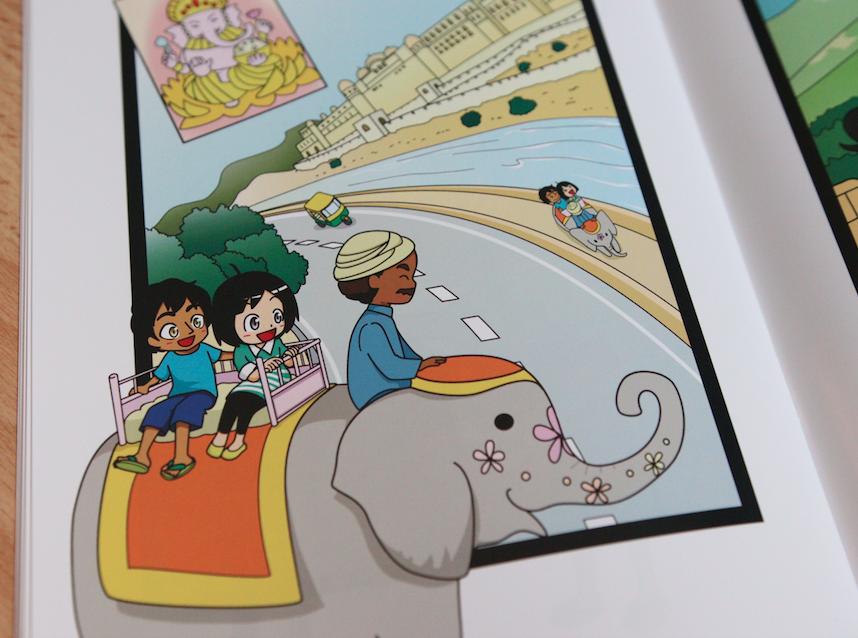 インドのゾウ 7+BILINGUAL受講ブログ 七田式英語教材35日で話せるセブンバイリンガル